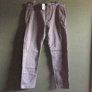 NWT JCrew men's pants. 33x32.